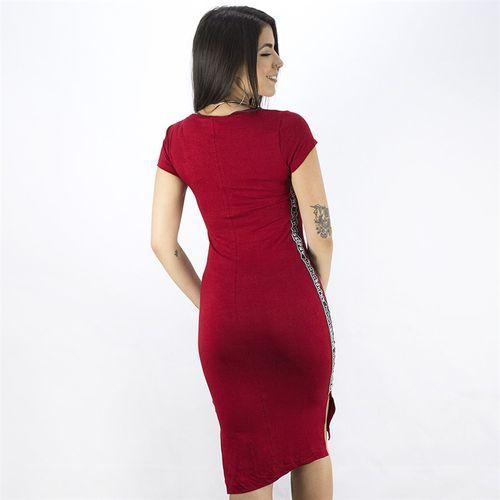 Vestido-Midi-Manga-Curta-Anjuss