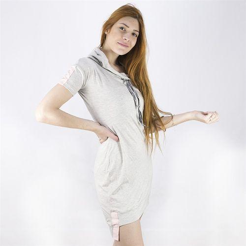 Vestido-Manga-Curta-Com-Capuz-e-Faixa-Anjuss