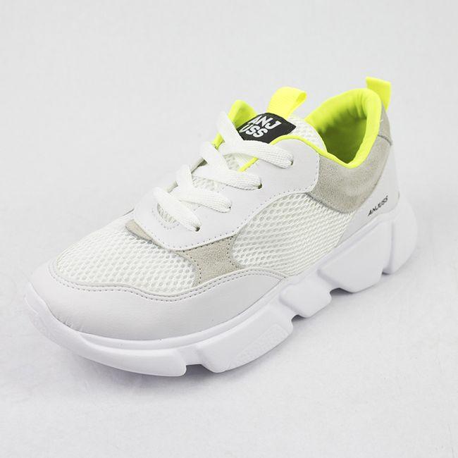 Tenis-Chuncky-Daddy-Branco-Amarelo-Neon-Anjuss