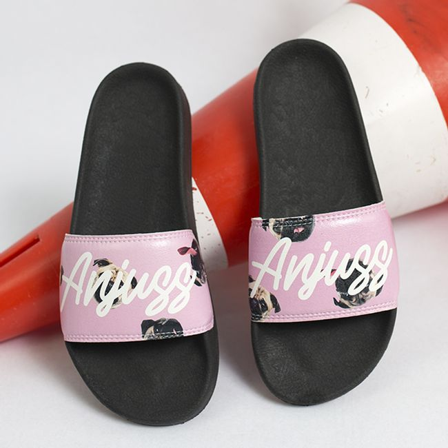 Chinelo-Slide-Pug-Rose-Anjuss