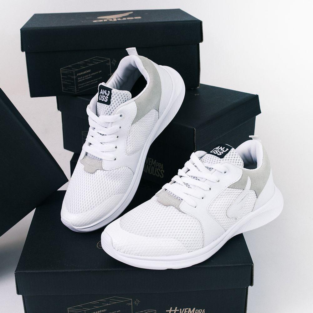 Tênis Flight Anjuss Branco/Branco branco/branco 35